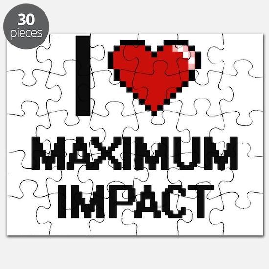 I Love Maximum Impact Puzzle