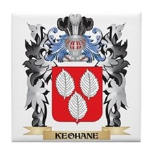 Keohane Coat of Arms - Family Crest Tile Coaster