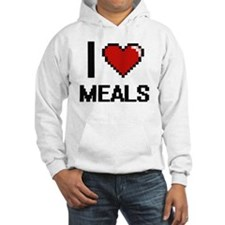 I Love Meals Jumper Hoody