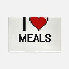 I Love Meals Magnets