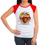 Valbueno Family Crest Women's Cap Sleeve T-Shirt