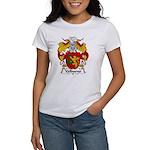 Valbueno Family Crest Women's T-Shirt