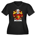 Valbuena Family Crest  Women's Plus Size V-Neck Da