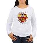 Valbuena Family Crest  Women's Long Sleeve T-Shirt