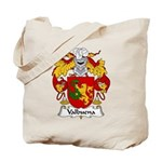 Valbuena Family Crest  Tote Bag