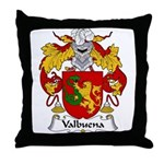Valbuena Family Crest  Throw Pillow