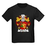 Valbuena Family Crest  Kids Dark T-Shirt