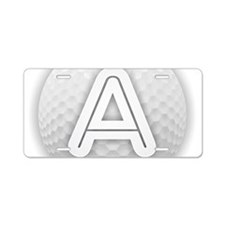 Cute Alicia Aluminum License Plate