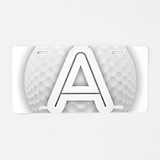 Cute Anastasia Aluminum License Plate
