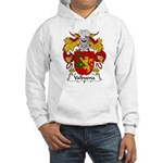 Valbuena Family Crest Hooded Sweatshirt