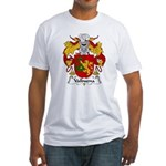 Valbuena Family Crest  Fitted T-Shirt