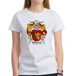 Valbuena Family Crest Women's T-Shirt