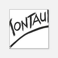 "Montauk Square Sticker 3"" x 3"""