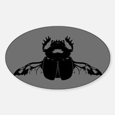 Scarab Beetle Decal