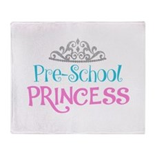 Pre-School Princess Throw Blanket