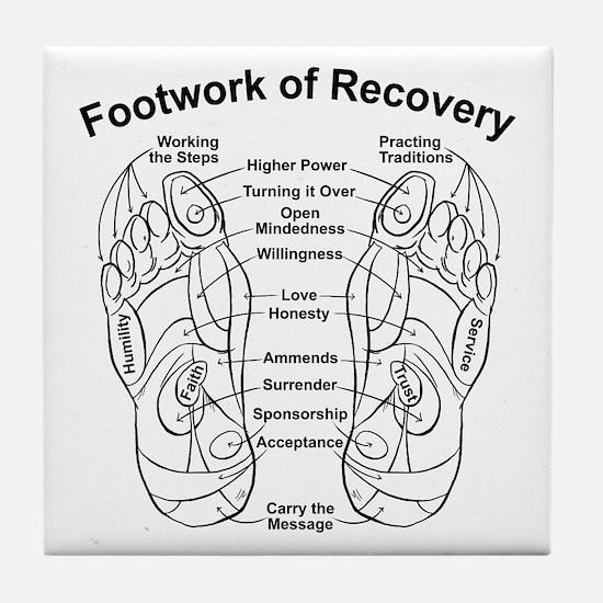 Cute Na recovery Tile Coaster