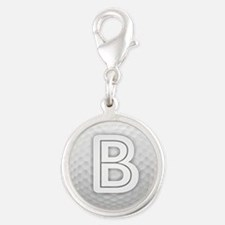 B Golf Ball - Monogram Golf Ball - Monogram Charms