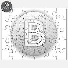 B Golf Ball - Monogram Golf Ball - Monogram Puzzle