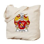 Urruela Family Crest Tote Bag