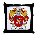 Urruela Family Crest Throw Pillow
