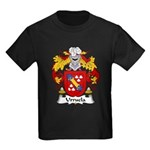 Urruela Family Crest Kids Dark T-Shirt