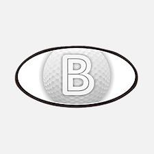 B Golf Ball - Monogram Golf Ball - Monogram Patch