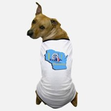 MILWAUKEE WI CITY FLAG Dog T-Shirt