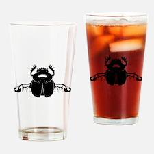 Scarab Beetle Drinking Glass