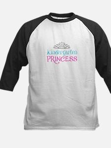 Kindergarten Princess Baseball Jersey
