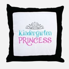 Kindergarten Princess Throw Pillow