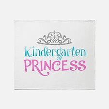 Kindergarten Princess Throw Blanket