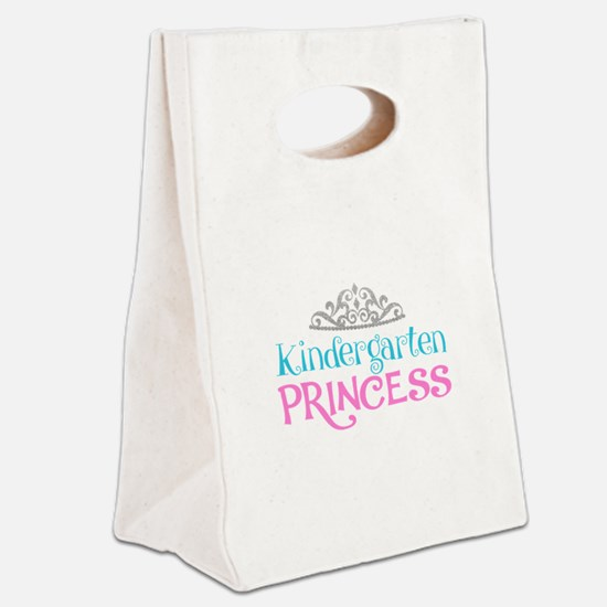Kindergarten Princess Canvas Lunch Tote