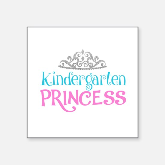 Kindergarten Princess Sticker