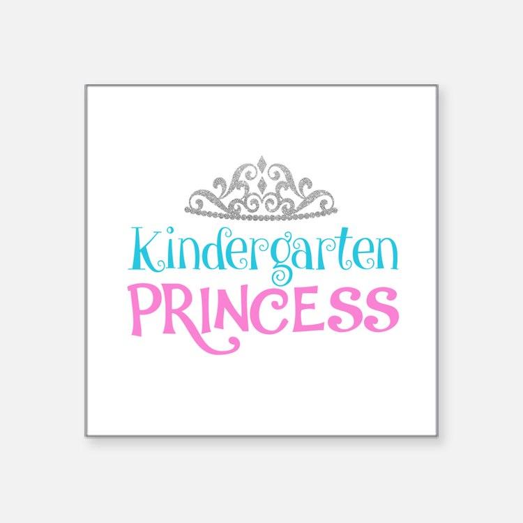 Kindergarten Princess Sticker