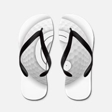 C Golf Ball - Monogram Golf Ball - Mono Flip Flops