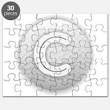 C Golf Ball - Monogram Golf Ball - Monogram Puzzle