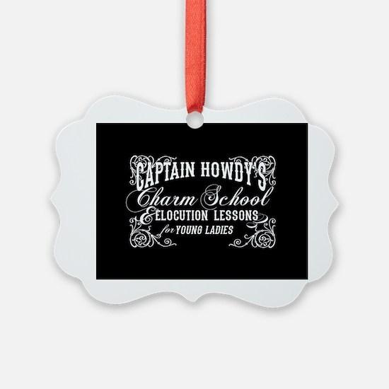 Captain Howdy's Charm School The Exorcist Ornament
