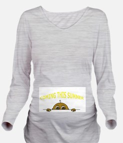 Coming This Summer Long Sleeve Maternity T-Shirt