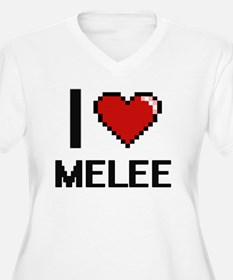I Love Melee Plus Size T-Shirt