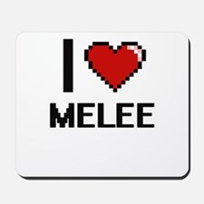 I Love Melee Mousepad