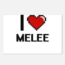I Love Melee Postcards (Package of 8)