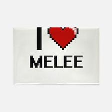 I Love Melee Magnets