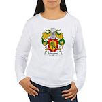 Unanue Family Crest Women's Long Sleeve T-Shirt