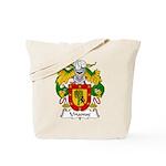 Unanue Family Crest Tote Bag