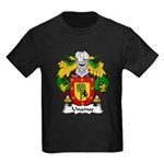 Unanue Family Crest Kids Dark T-Shirt