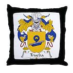 Trueba Family Crest Throw Pillow