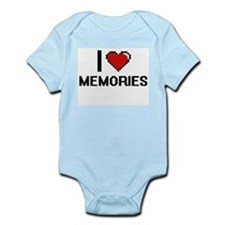 I Love Memories Body Suit