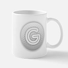 G Golf Ball - Monogram Golf Ball - Monogram G Mugs