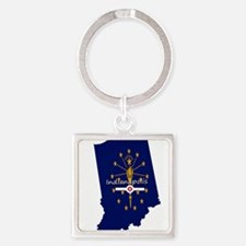 INDIANAPOLIS INDIANA FLAGS Keychains