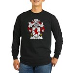 Tora Family Crest Long Sleeve Dark T-Shirt